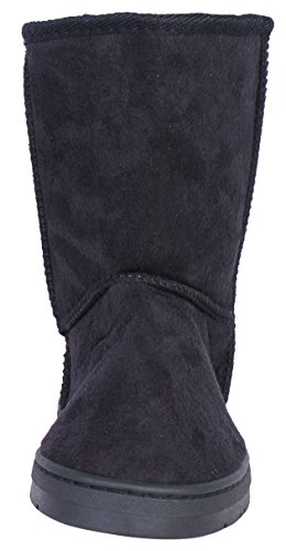 Bebe-Girls-Winter-Boots-with-Side-Bebe-Logo-BlackSilver-Size-4-0-1