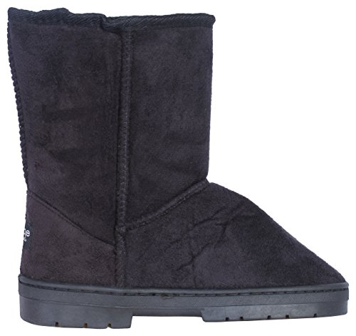 Bebe-Girls-Winter-Boots-with-Side-Bebe-Logo-BlackSilver-Size-4-0-2