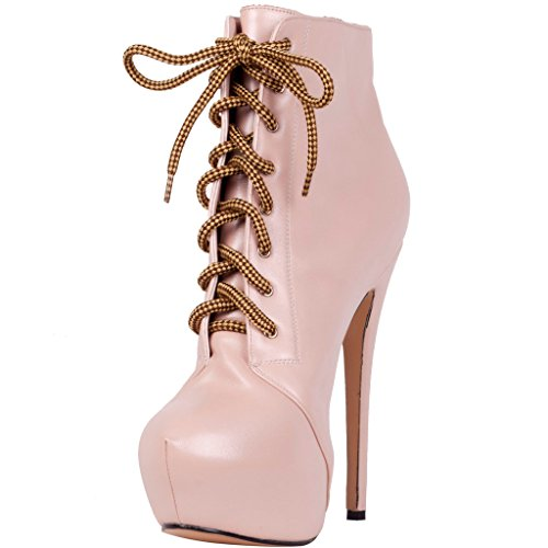 Calaier-Womens-Caclub-Autumn-Winter-New-Fashion-Casual-Girls-Dress-Platform-Round-Toe-Super-High-Heel-Round-Toe-15CM-Stiletto-Boots-Pink-13-BM-US-0