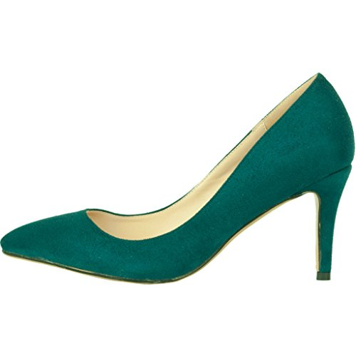 Calaier-Womens-Cadrum-Luxury-Sexy-Fashion-Wedding-Dress-Evening-Modern-High-Pointed-Toe-7CM-Stiletto-Slip-on-Pumps-Green-95-BM-US-0-0
