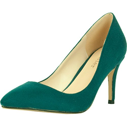 Calaier-Womens-Cadrum-Luxury-Sexy-Fashion-Wedding-Dress-Evening-Modern-High-Pointed-Toe-7CM-Stiletto-Slip-on-Pumps-Green-95-BM-US-0