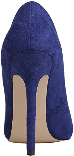 Calaier-Womens-Caeverybody-Pointed-Toe-10CM-Stiletto-Slip-on-Pumps-Shoes-Blue-5-BM-US-0-1