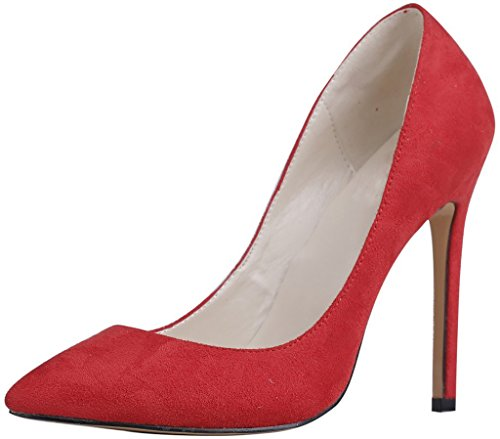 Calaier-Womens-Caeverybody-Pointed-Toe-10CM-Stiletto-Slip-on-Pumps-Shoes-Red-7-BM-US-0