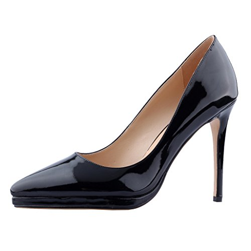 Calaier-Womens-Cakill-Sexy-Luxury-Designer-Wedding-Dress-Elegant-Office-High-Heel-Plus-Size-Pointed-Toe-115CM-Stiletto-Slip-on-Pumps-Shoes-Black-13-BM-US-0
