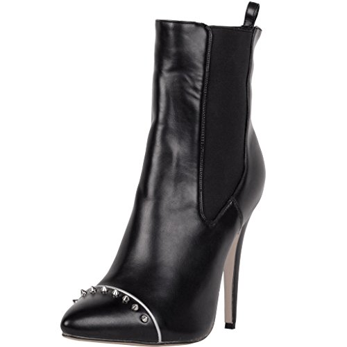 Calaier-Womens-Catoday-2016-Winter-Designer-Luxury-Fashion-Parties-Rivet-Studded-High-Heel-Boots-Shoes-Pointed-Toe-12CM-Stiletto-Slip-on-Boots-Black-14-BM-US-0
