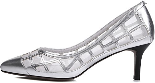 Calaier-Womens-Jtabi-Pointed-Toe-6CM-Stiletto-Slip-on-Pumps-Shoes-silver-9-BM-US-0-0