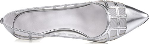 Calaier-Womens-Jtabi-Pointed-Toe-6CM-Stiletto-Slip-on-Pumps-Shoes-silver-9-BM-US-0-1