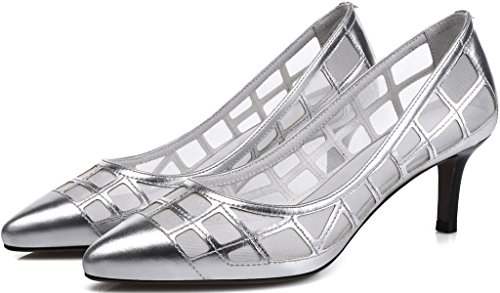 Calaier-Womens-Jtabi-Pointed-Toe-6CM-Stiletto-Slip-on-Pumps-Shoes-silver-9-BM-US-0-2