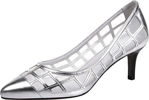 Calaier-Womens-Jtabi-Pointed-Toe-6CM-Stiletto-Slip-on-Pumps-Shoes-silver-9-BM-US-0