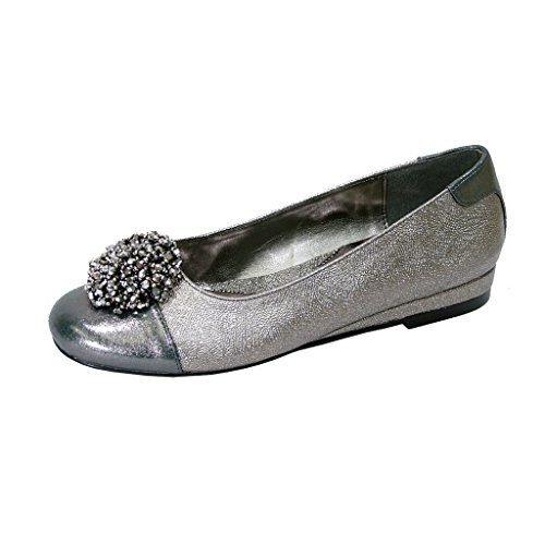 FIC-FUZZY-Andie-Women-Extra-Wide-Width-Metallic-Slip-On-Flats-PEWTER-10-0