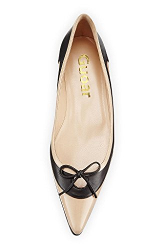 Guoar-Womens-Ballet-Flats-Big-Size-Ladies-Shoes-Multi-color-Pointed-Toe-Bowknot-Pumps-Shoes-Nude-US-5-0-1
