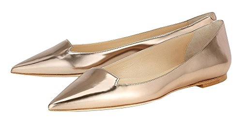 Guoar-Womens-Ballet-Flats-Big-Size-Sandals-Ladies-Shoes-Solid-Pointed-Toe-Bling-Pumps-for-Wedding-Party-Dress-Gold-US-12-0-2