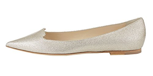Guoar-Womens-Ballet-Flats-Big-Size-Sandals-Ladies-Shoes-Solid-Pointed-Toe-Bling-Pumps-for-Wedding-Party-Dress-Silver-US-13-0