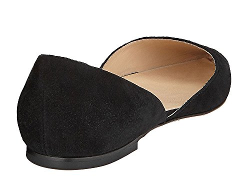 Guoar-Womens-Ballet-Flats-Big-Size-Sandals-Ladies-Shoes-Solid-Pointed-Toe-DOrsayTwo-Piece-Pumps-for-Wedding-Party-Dress-Black-US-14-0-2