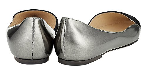 Guoar-Womens-Ballet-Flats-Big-Size-Sandals-Ladies-Shoes-Suede-Pointed-Toe-DOrsayTwo-Piece-Pumps-for-Wedding-Party-Dress-Grey-US-15-0-1