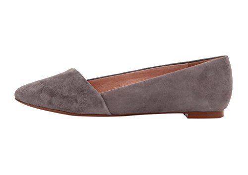 Guoar-Womens-Casual-Ballet-Flats-Big-Size-Chic-Pointed-Toe-Suede-Pumps-Shoes-Sandals-for-Dressing-Work-Grey-US-13-0