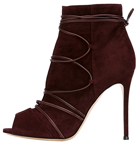 Guoar-Womens-High-Heel-Shoes-Bootie-Big-Size-Gladiator-Cut-Out-Peep-Toe-Strappy-Ankle-Boots-for-Wedding-Party-Dress-Wine-US65-0