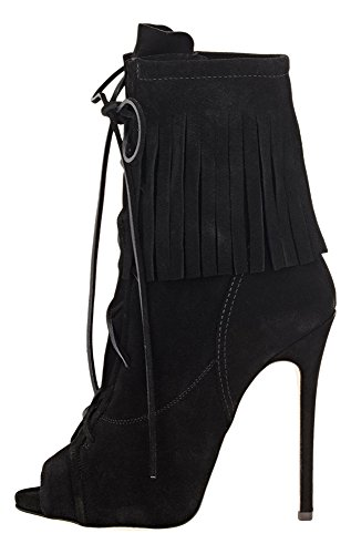 Guoar-Womens-High-Heel-Shoes-Bootie-Big-Size-Gladiator-Fringe-Peep-Toe-Strappy-Ankle-Boots-for-Dress-0