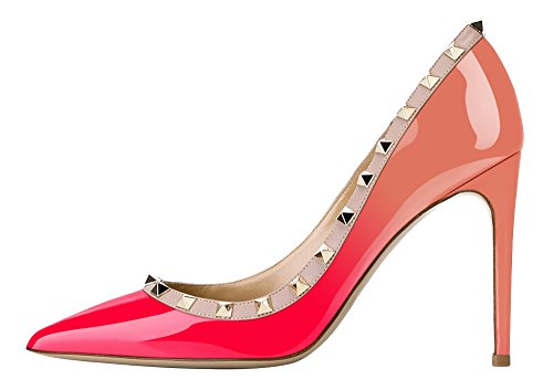 Guoar-Womens-Rivet-Shoes-High-Heel-Flats-Big-Size-Sandals-Pointed-Toe-Studded-Pumps-for-Wedding-Party-Dress-Nude-and-Peach-US55-0
