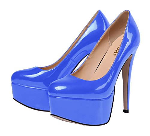 Guoar-Womens-Solid-Shoes-High-Heel-Big-Size-with-Platform-Patent-Pumps-for-Wedding-Party-Dress-Blue-US65-0-0