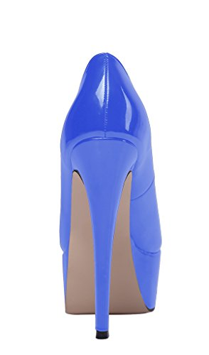 Guoar-Womens-Solid-Shoes-High-Heel-Big-Size-with-Platform-Patent-Pumps-for-Wedding-Party-Dress-Blue-US65-0-3