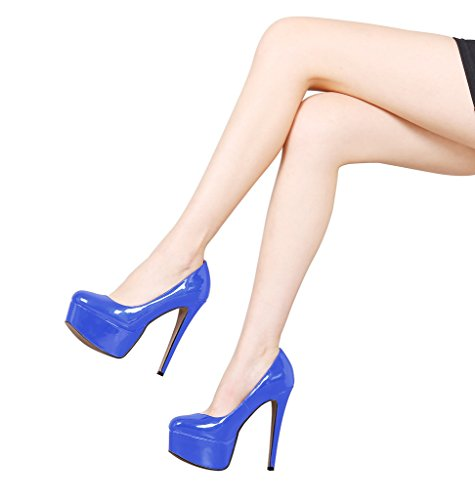 Guoar-Womens-Solid-Shoes-High-Heel-Big-Size-with-Platform-Patent-Pumps-for-Wedding-Party-Dress-Blue-US65-0-4