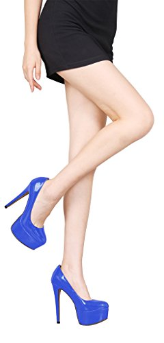 Guoar-Womens-Solid-Shoes-High-Heel-Big-Size-with-Platform-Patent-Pumps-for-Wedding-Party-Dress-Blue-US65-0-5