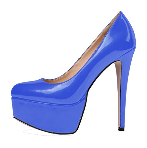Guoar-Womens-Solid-Shoes-High-Heel-Big-Size-with-Platform-Patent-Pumps-for-Wedding-Party-Dress-Blue-US65-0