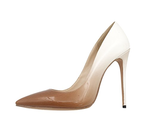 Guoar-Womens-Stiletto-Big-Size-Court-Shoes-Pointed-Toe-Colourful-Patent-Pumps-for-Wedding-Party-Dress-Nude-US115-0