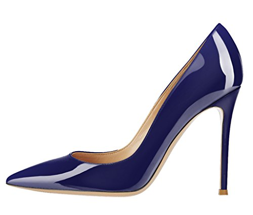 Guoar-Womens-Stiletto-Big-Size-Sandals-Solid-Shoes-Pointed-Toe-Ladies-Patent-Pumps-for-Wedding-Party-Dress-Navy-US-9-0