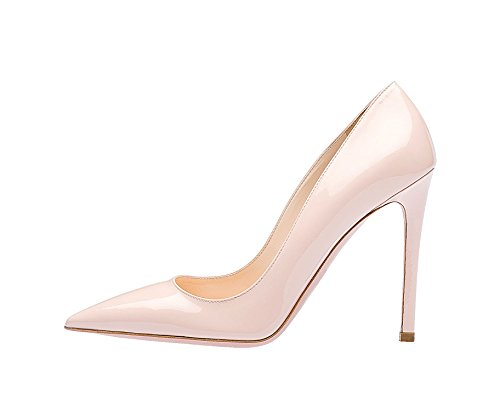 Guoar-Womens-Stiletto-Big-Size-Shoes-Pointed-Toe-Ladies-Solid-Pumps-for-Work-Prom-Dress-Party-0
