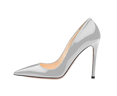 Guoar-Womens-Stiletto-Big-Size-Shoes-Pointed-Toe-Ladies-Solid-Pumps-for-Work-Prom-Dress-Party-Grey-US75-0