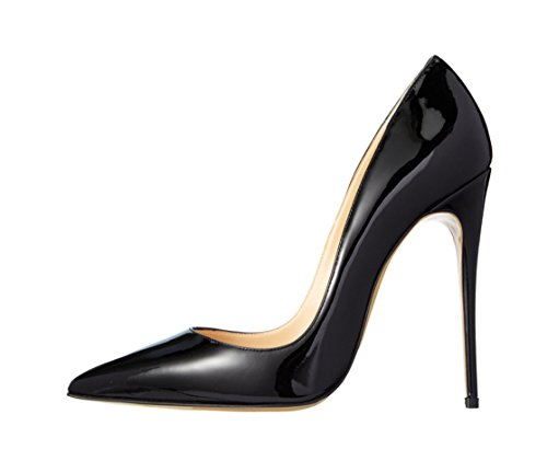 Guoar-Womens-Stiletto-Big-Size-Shoes-Pointed-Toe-Patent-Ladies-Solid-Pumps-for-Work-Place-Dress-Party-Black-US75-0