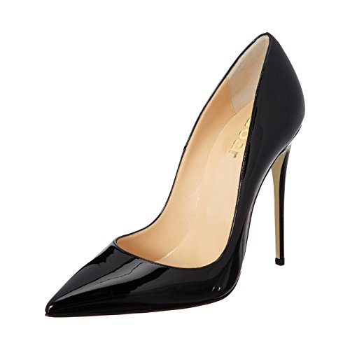 Guoar-Womens-Stiletto-Big-Size-Shoes-Pointed-Toe-Patent-Ladies-Solid-Pumps-for-Work-Place-Dress-Party-Black-US85-0