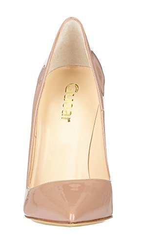 Guoar-Womens-Stiletto-Big-Size-Shoes-Pointed-Toe-Patent-Ladies-Solid-Pumps-for-Work-Place-Dress-Party-Nude-US75-0-2