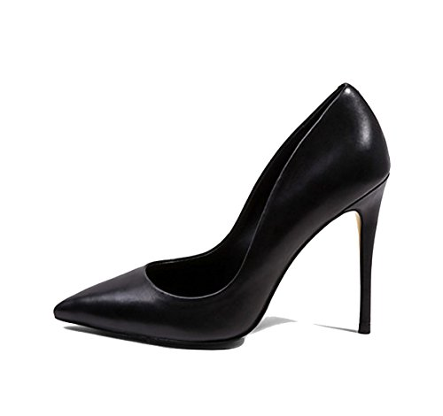 Guoar-Womens-Stiletto-Heel-Plus-Size-Solid-Shoes-Pointed-Toe-Patent-Pumps-for-Wedding-Party-Dress-Black-Softleather-US55-0