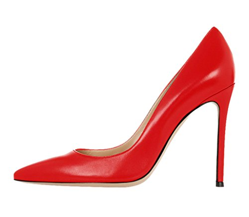 Guoar-Womens-Stiletto-Heel-Sandals-Big-Size-Solid-Shoes-Pointed-Toe-Solid-Pumps-for-Wedding-Party-Dress-Red-US75-0