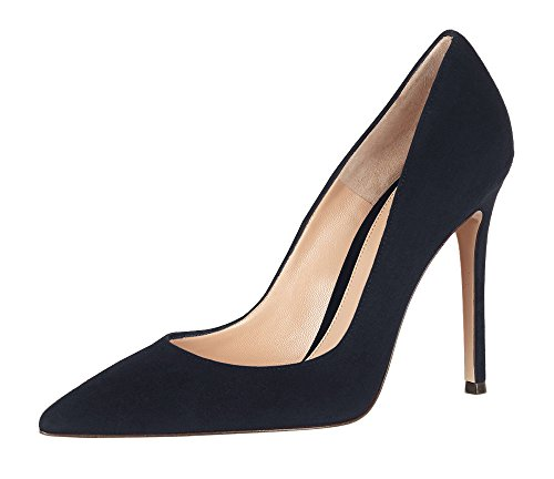 Guoar-Womens-Stiletto-Heel-Sandals-Big-Size-Solid-Shoes-Pointed-Toe-Suede-Pump-for-Wedding-Party-Dress-Navy-US75-0-0
