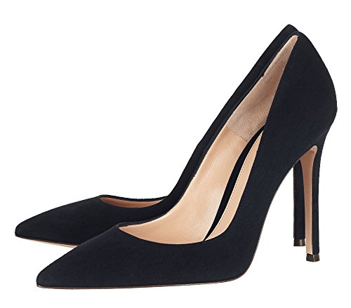 Guoar-Womens-Stiletto-Heel-Sandals-Big-Size-Solid-Shoes-Pointed-Toe-Suede-Pump-for-Wedding-Party-Dress-Navy-US75-0-2