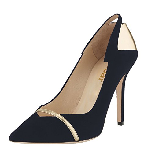Guoar-Womens-Stiletto-Heel-Sandals-Shoes-Plus-Size-Punk-Sequin-Patchwork-Pointed-Toe-Suede-Pumps-for-Wedding-Party-Dress-Gold-and-Black-US65-0-0