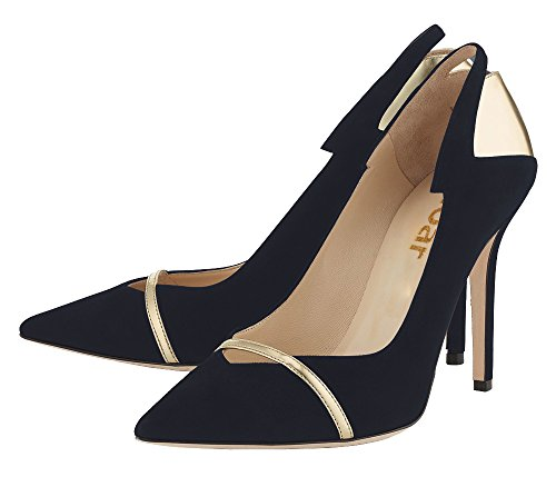 Guoar-Womens-Stiletto-Heel-Sandals-Shoes-Plus-Size-Punk-Sequin-Patchwork-Pointed-Toe-Suede-Pumps-for-Wedding-Party-Dress-Gold-and-Black-US65-0-1