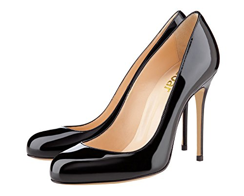 Guoar-Womens-Stiletto-Round-Toe-High-Heels-Pumps-Prom-Party-Dress-Shoes-size-5-12-US-Black-US-9-0-1