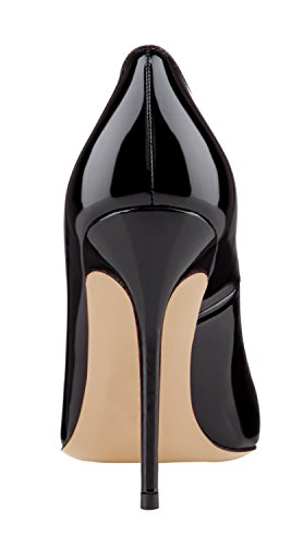 Guoar-Womens-Stiletto-Round-Toe-High-Heels-Pumps-Prom-Party-Dress-Shoes-size-5-12-US-Black-US-9-0-2