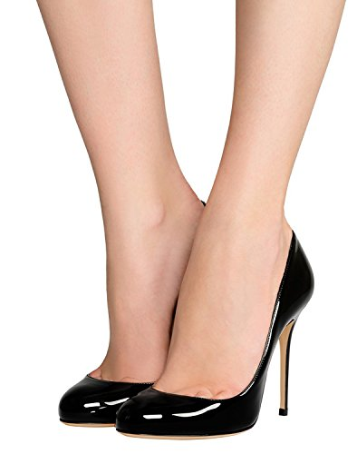 Guoar-Womens-Stiletto-Round-Toe-High-Heels-Pumps-Prom-Party-Dress-Shoes-size-5-12-US-Black-US-9-0-3