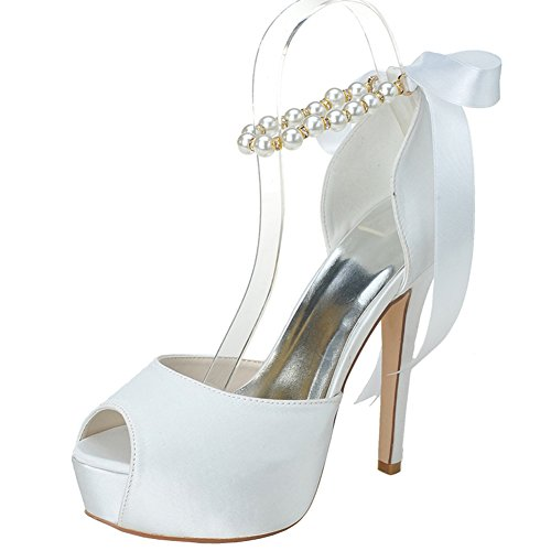 LOSLANDIFEN-Womens-Peep-Toe-Satin-Adjustable-Pearls-Ankle-Strap-Ribbon-Bow-High-Heel-Wedding-Bridal-Shoes-0