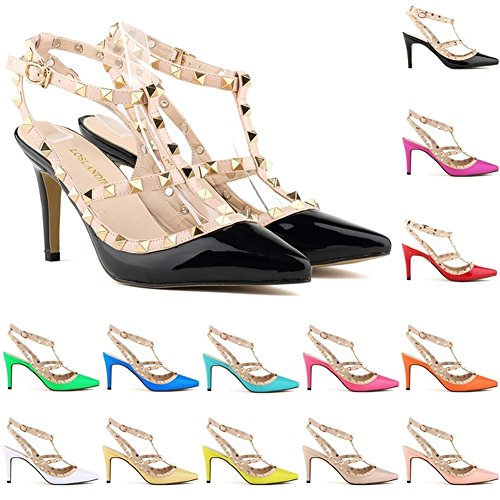 Loslandifen-Ladies-High-Heels-Party-Wedding-Count-Pump-Shoes-0