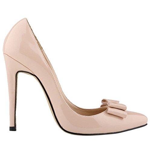 Loslandifen-Womens-Closed-Toe-Cusp-High-Heels-Patent-Leather-Wedding-Pumps-0