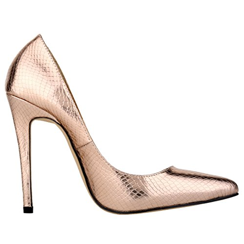 Loslandifen-Womens-Small-Crocodile-Design-High-Heels-Cusp-Work-Pumps-0