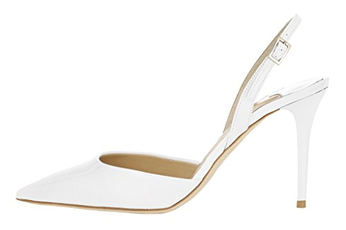 MONICOCO-Womens-Plus-Size-Shoes-Pointed-Toe-Ankle-Strap-Cut-Out-Buckle-Heel-Sandals-White-7-BM-US-0