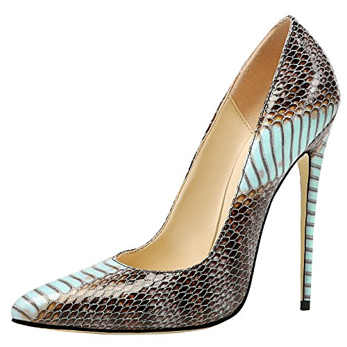 MONICOCO-Womens-Pointed-Toe-Snake-Print-Party-Pump-Shoes-Blue-11-M-US-0-0